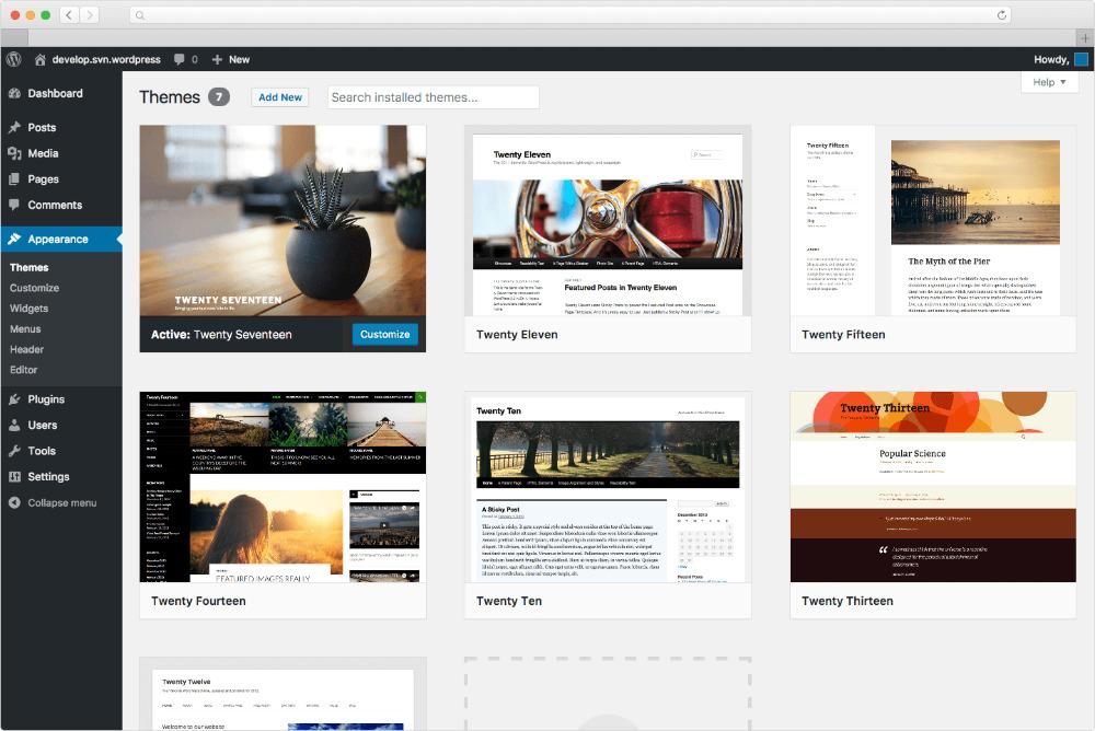 hướng dẫn cách thiết kế website